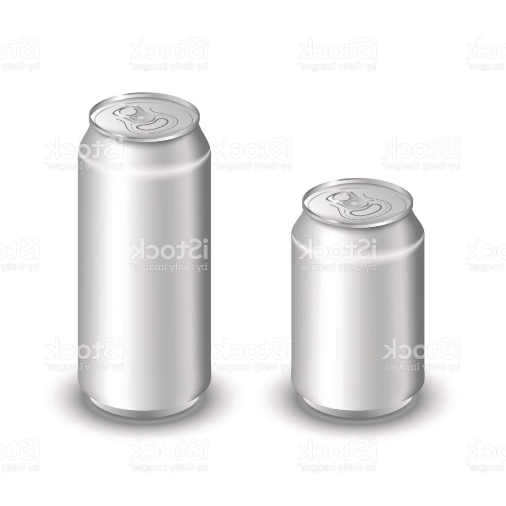 1024x1024 Top Mock Up Of Aluminum Can Two Cans Isolated On White Blank