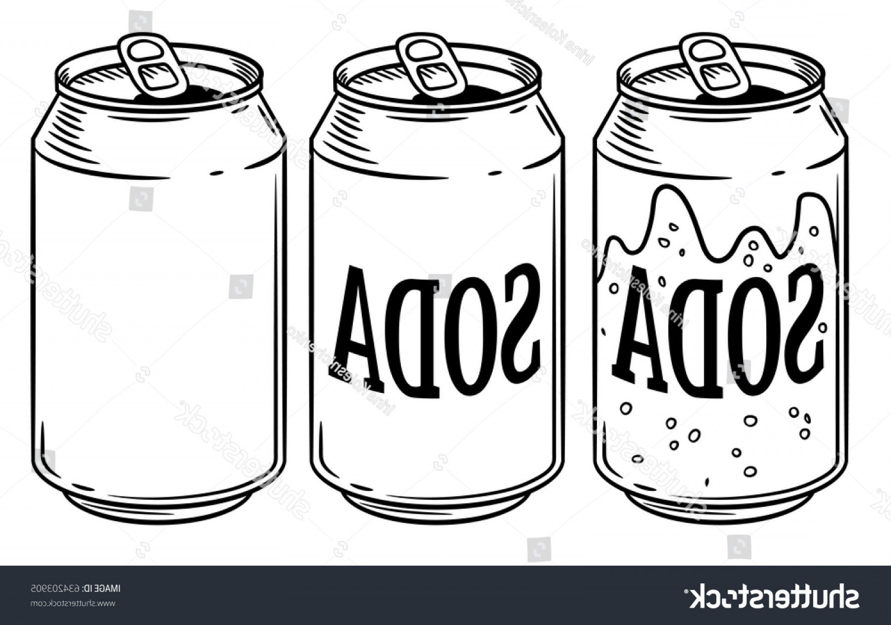 1800x1263 Vector Illustration Soda Can Isolated On Shopatcloth