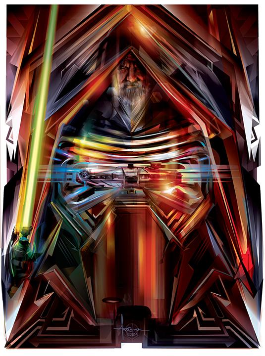 535x720 Stunning Collection Of Star Wars Vector Art By Orlando Arocena