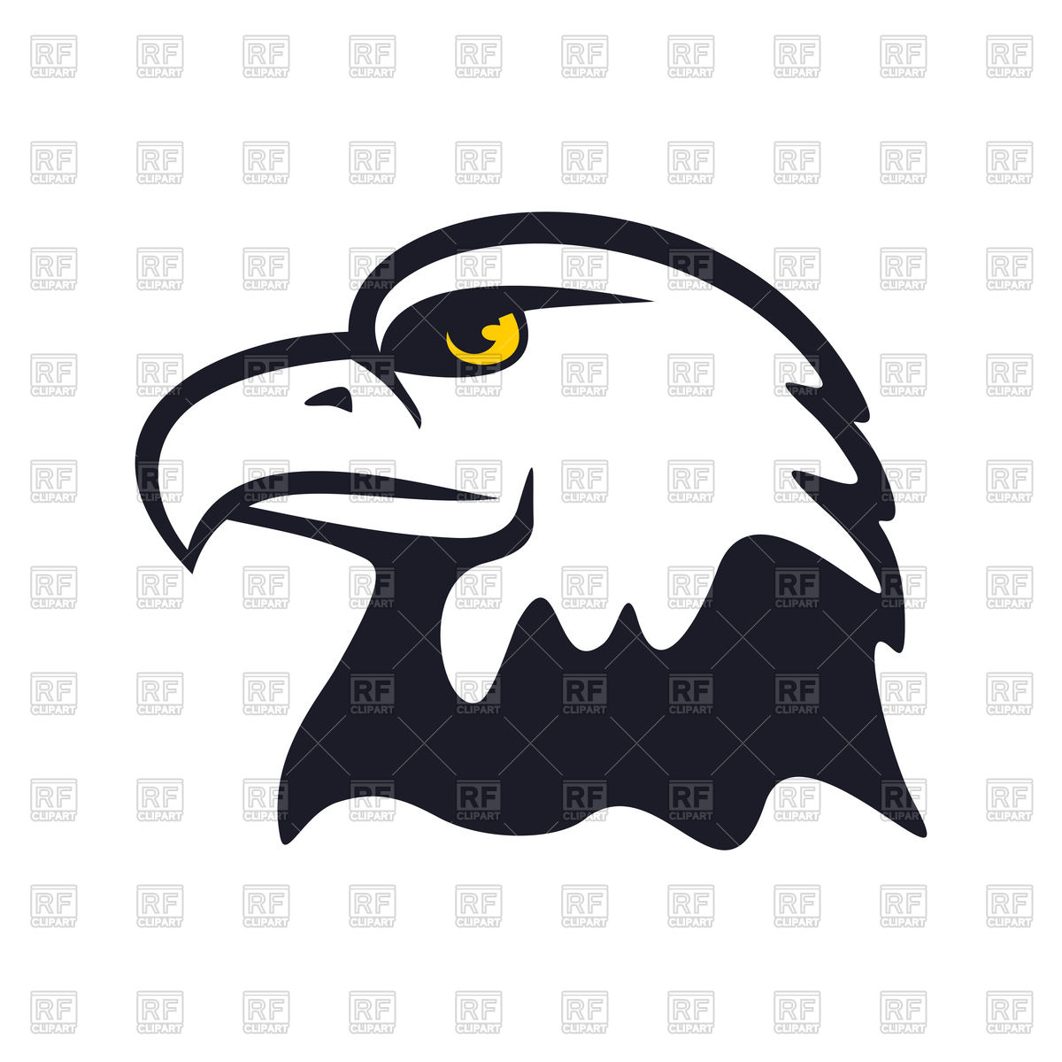 1200x1200 American Eagle Vector Image Vector Artwork Of Plants And Animals