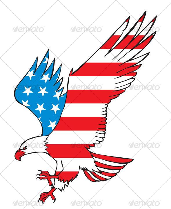 590x721 American Eagle By Namistudio Graphicriver