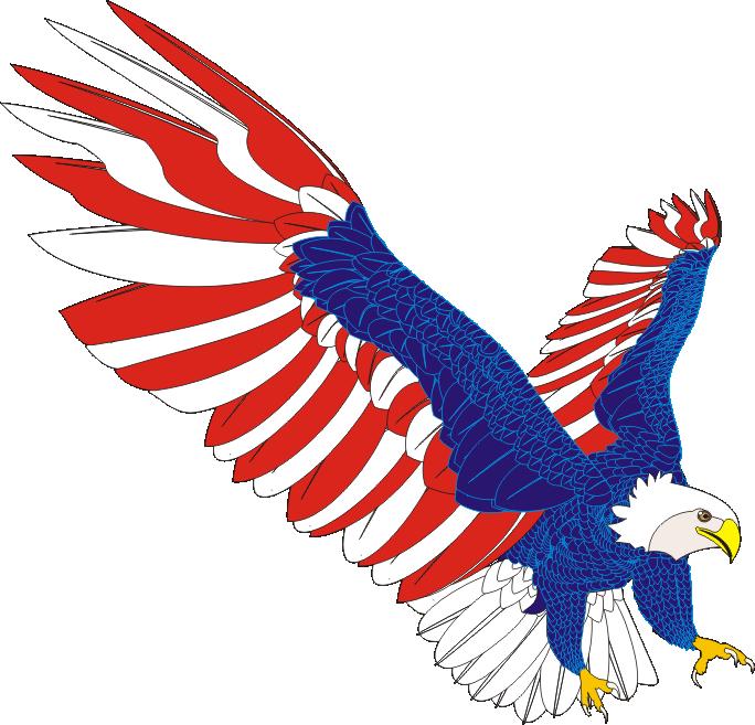 684x657 Eagle Vector