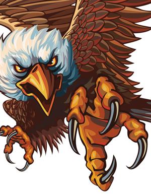 300x387 Index Of Imagesrenderedrendered Vector1 Bald Eagle Vector