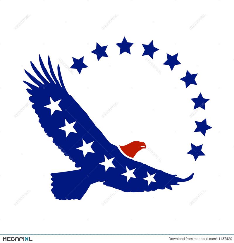 800x830 American Eagle Vector Symbol Illustration 11137420