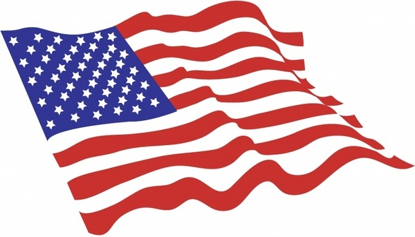 600x343 American Flag Banner Free Vector Download (11,968 Free Vector) For