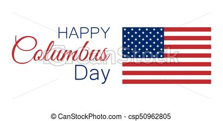 450x245 Columbus Day, The Discoverer Of America, Usa Flag And Continent