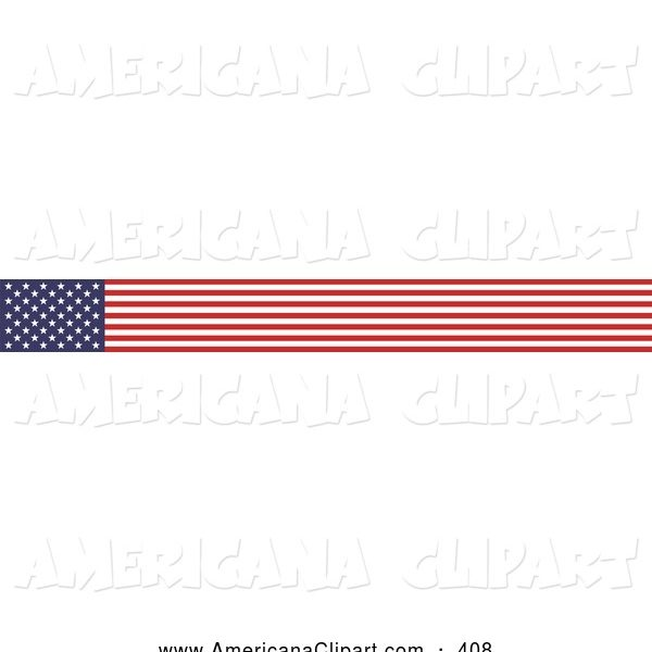 600x600 Usa Flag Banner Clipart Clipartfest Intended For American Flag