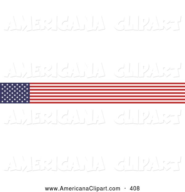 600x620 Usa Flag Banner Clipart