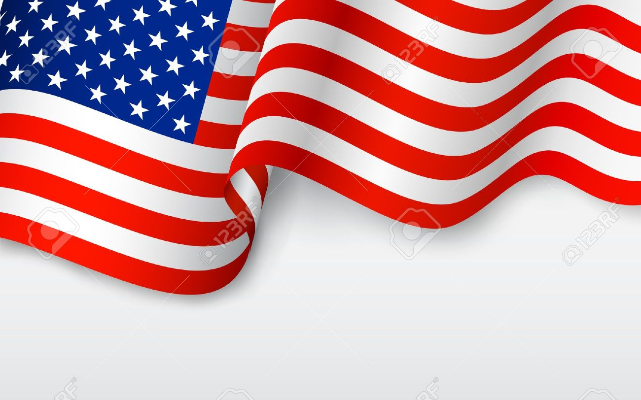 1300x812 Usa Flag Banner Clipart Independence Day
