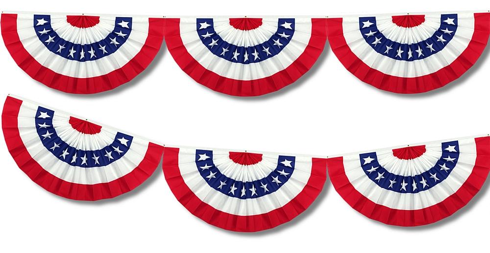 1000x518 American Flag Clipart Banner