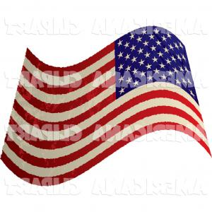 300x300 American Flag Clipart Vector Awesome Waving American Stars And