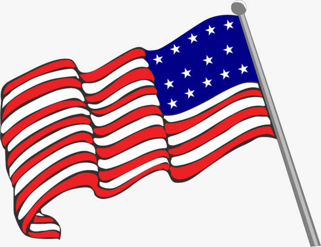 650x501 American Flag Vector Material Png, Flag Vector, Flag, United