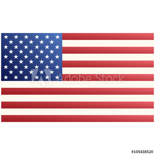 500x500 American Flag Vector.american Flag Jpeg.american Flag Object