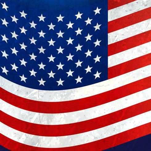 490x490 Unique American Flag Free Vector E8206168 American Flag Grunge