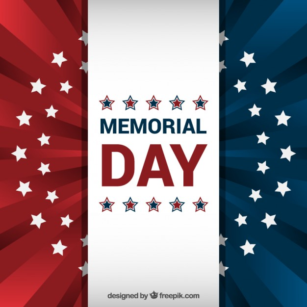 626x626 American Flag Background For Memorial Day Vector Free Download