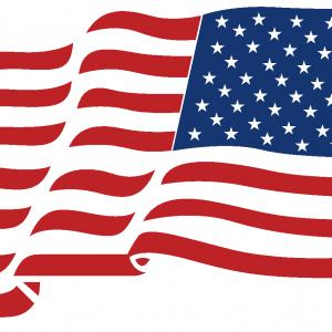 300x300 Distressed American Flags Svg Cut File Arenawp