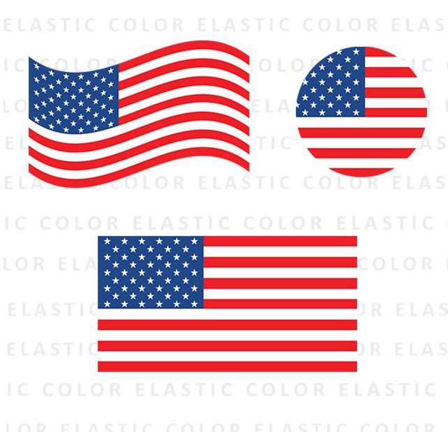 642x619 Usa Flag Svg American Flag Clipart Usa Flag Vector Digital Etsy