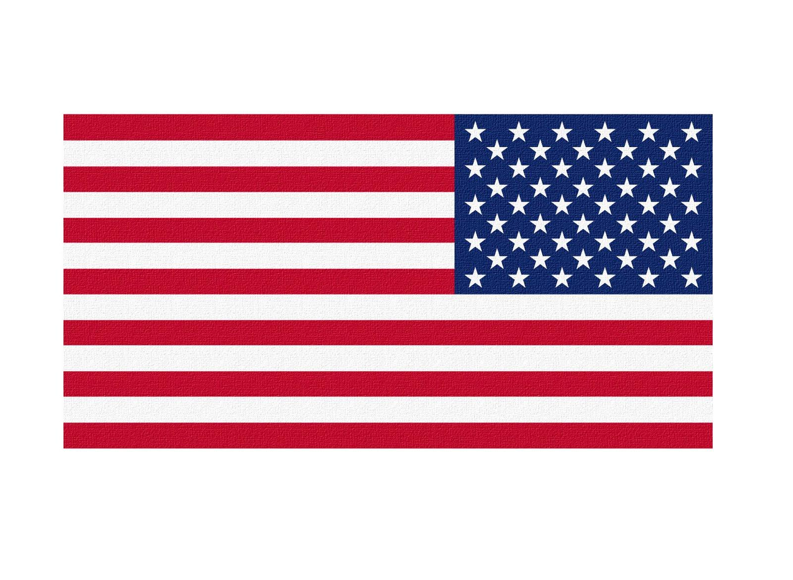 1600x1171 American Flag Vector Art Group With Items