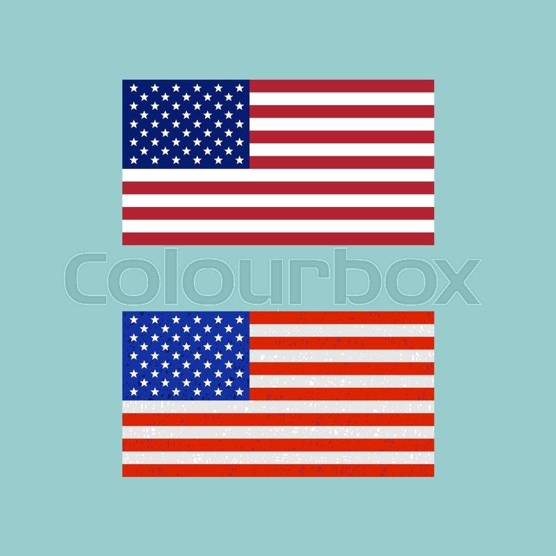 800x800 American Flag Vector Symbol Eps 8 File Format Stock Vector