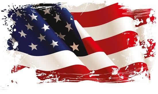 550x327 American Flag Vectors Design