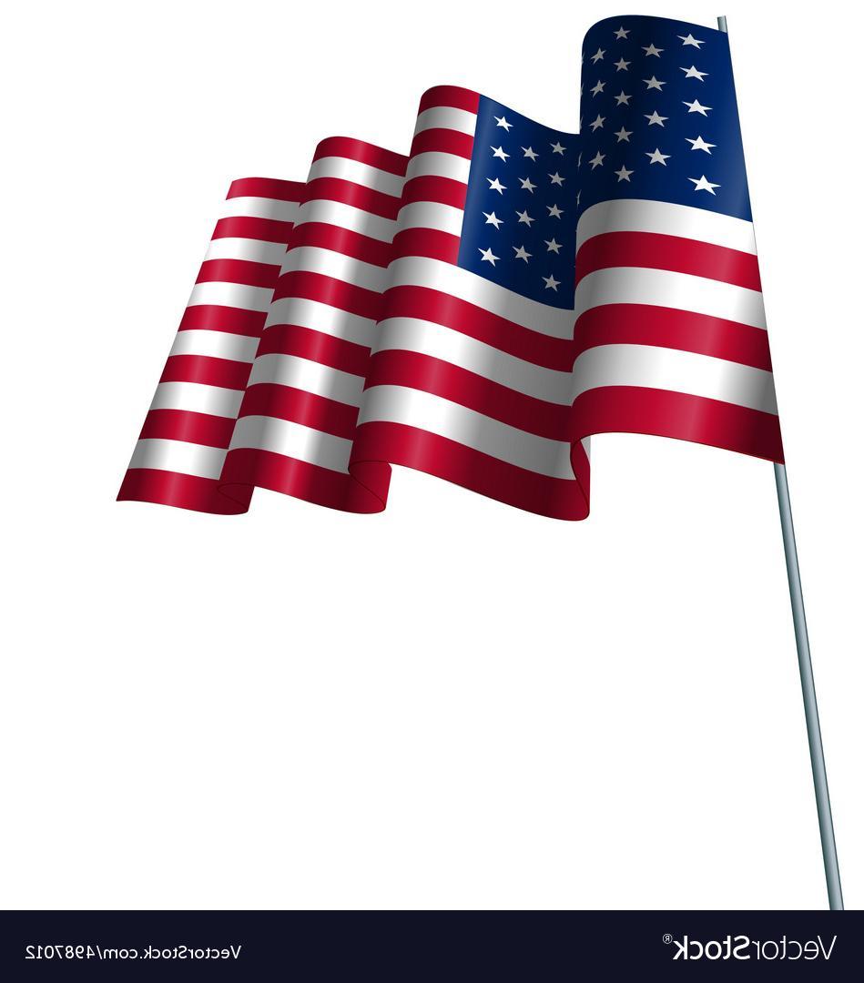 949x1080 Best Free American Flag Waving Wind Vector File