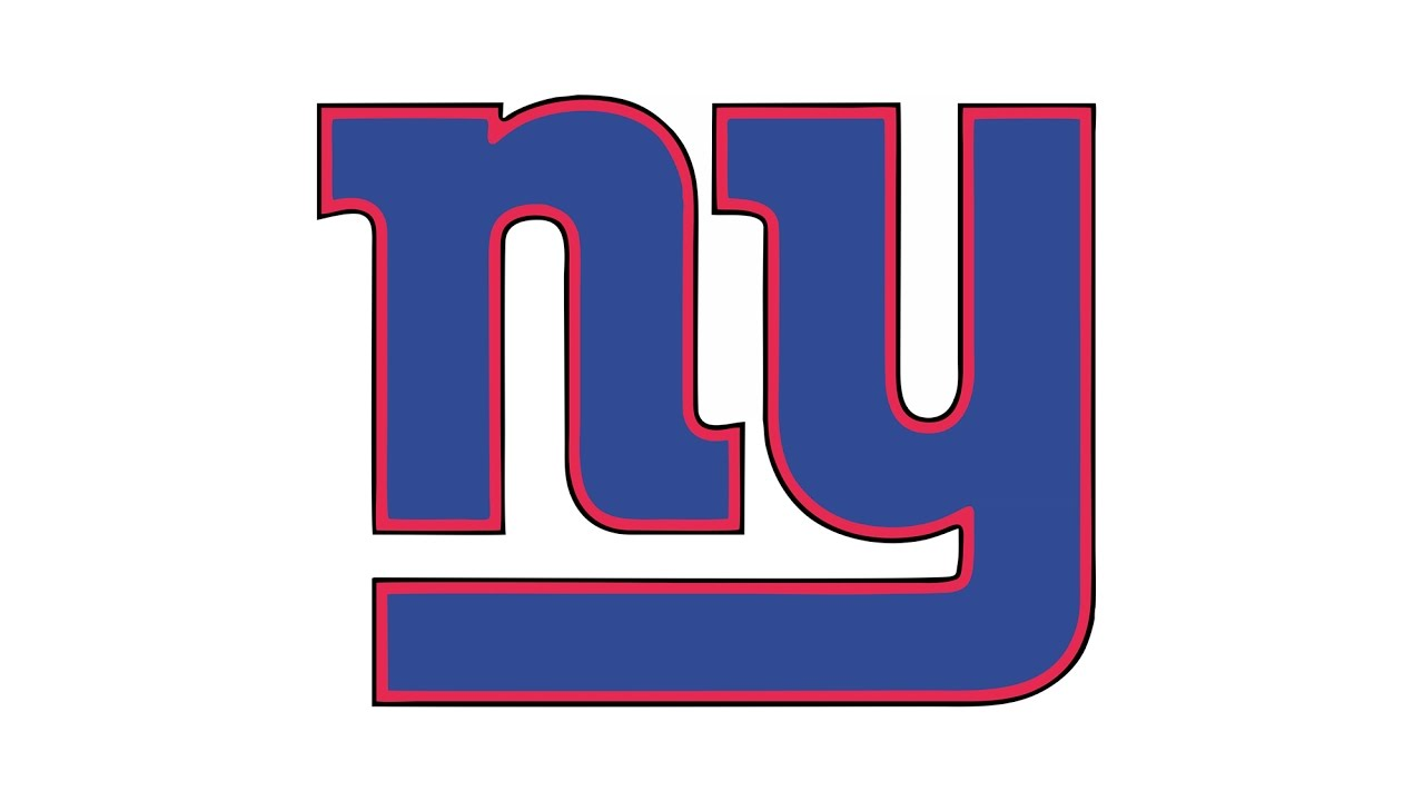 1280x720 How To Draw The New York Giants Logo (Nfl)