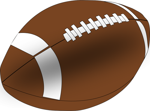 500x371 American Football Vector Clip Art Public Domain Vectors