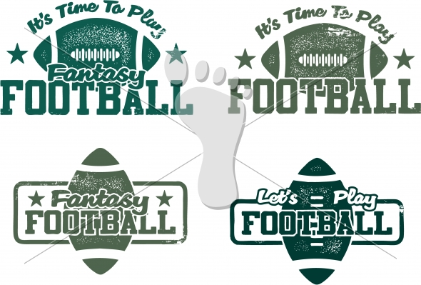 590x399 American Football And Fantasy Football Vector Graphics