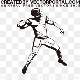 260x261 Black And White Football Png Images Vectors And Psd Files Free