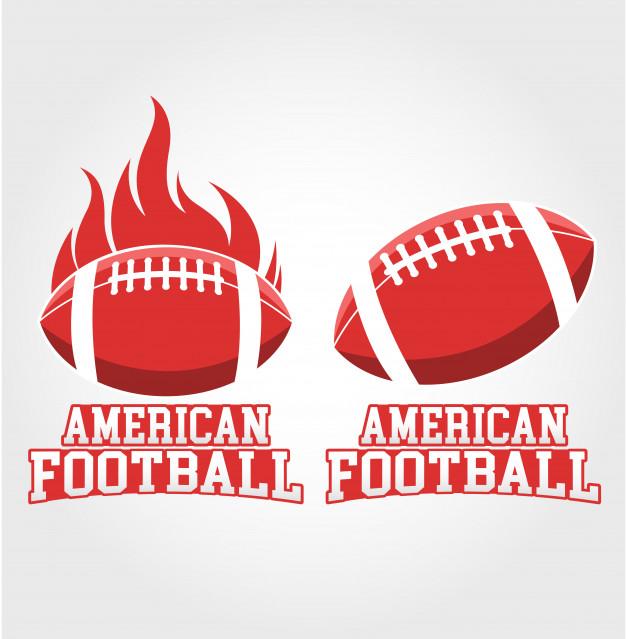626x639 American Football Vector Premium Download