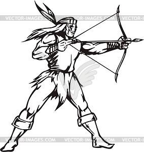 American Indian Vector