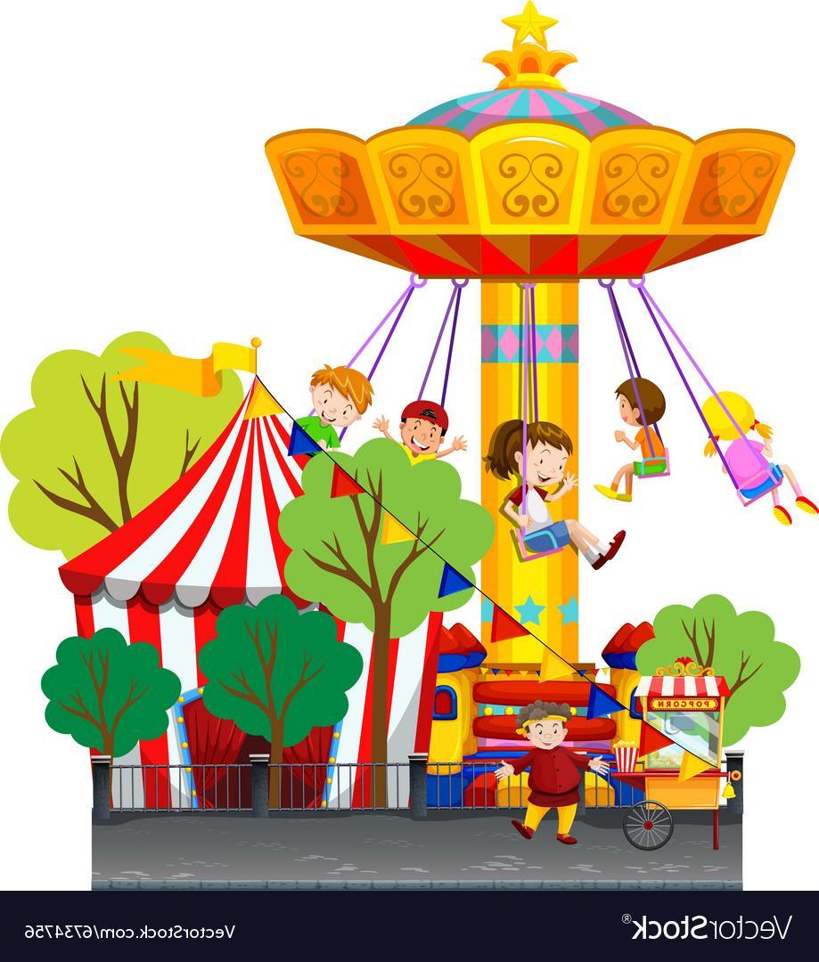 919x1080 Unique Amusement Park Vector Images Free Vector Art, Images