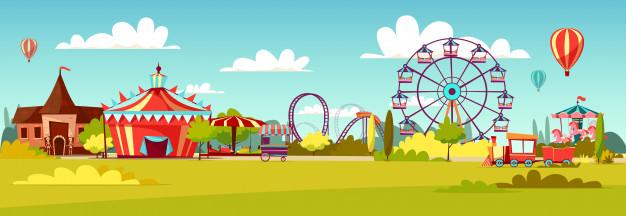 626x216 Amusement Park Vectors, Photos And Psd Files Free Download