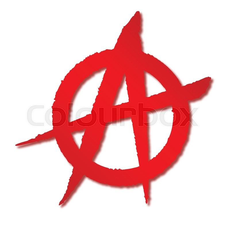 Anarchy Symbol Vector
