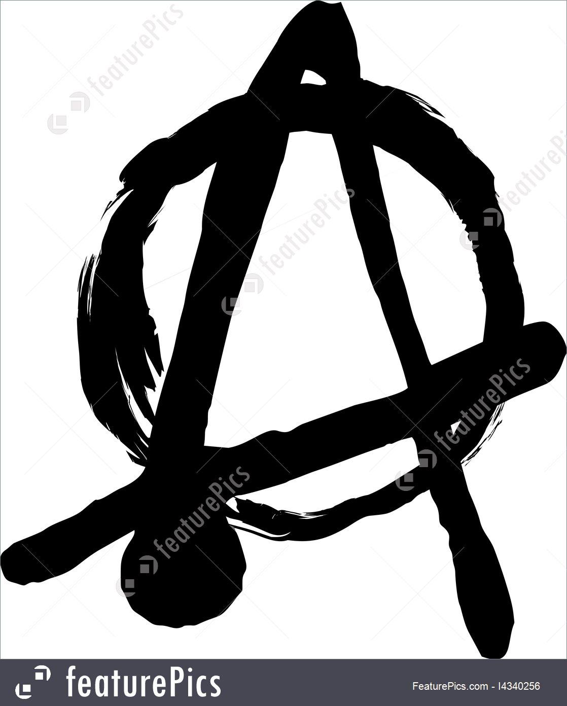 1118x1392 Anarchy Symbol Illustration