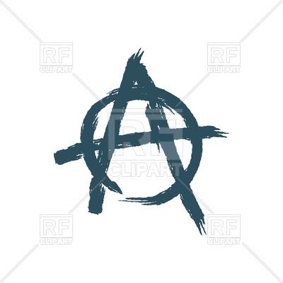 400x400 Anarchy Sign Vector Image Vector Artwork Of Signs, Symbols, Maps
