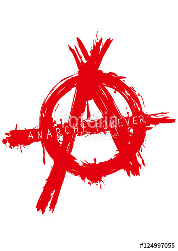 354x500 Anarchy Forever Symbol Stock Image And Royalty Free Vector Files