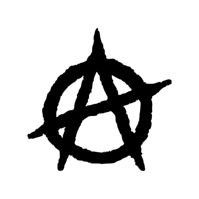 690x690 Anarchy Symbol Anarchist Chaos A Graphics By Vectordesign On Zibbet