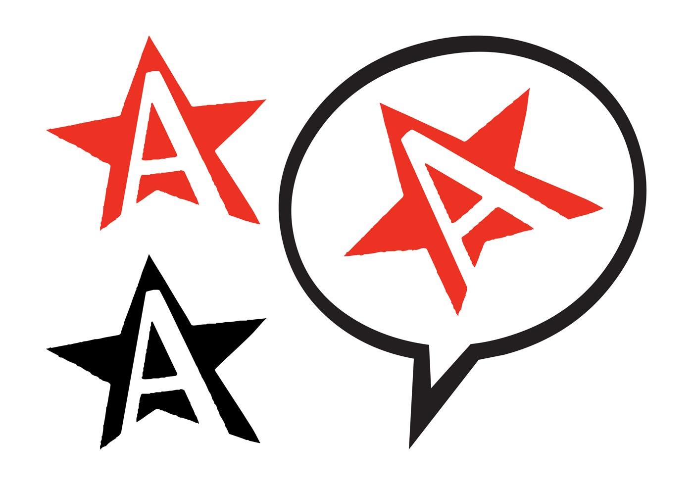 1400x980 Anarchy Symbol Free Vector Art