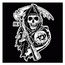 210x210 Sons Of Anarchy Logo Vector