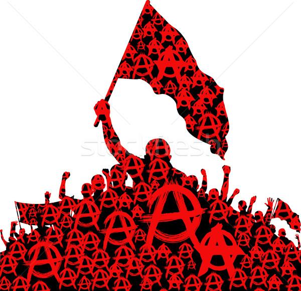 600x579 Anarchy Vector Illustration Marek Trawczynski (Mtmmarek
