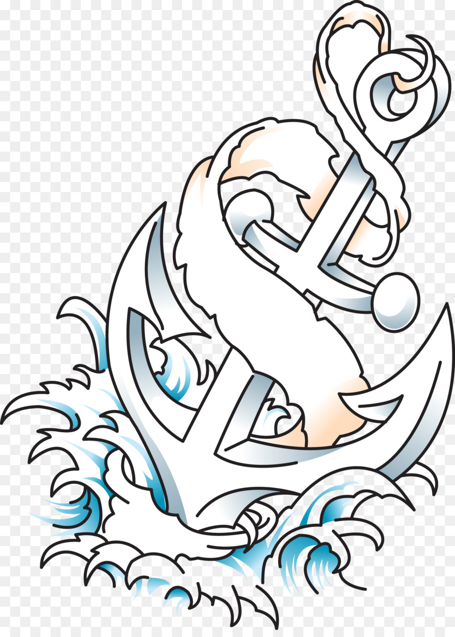 900x1260 Download Old School Tattoo Anchor New School Anchor Tattoo Vector