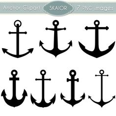 236x236 I Like These Simple Anchors Business Card Inspiration