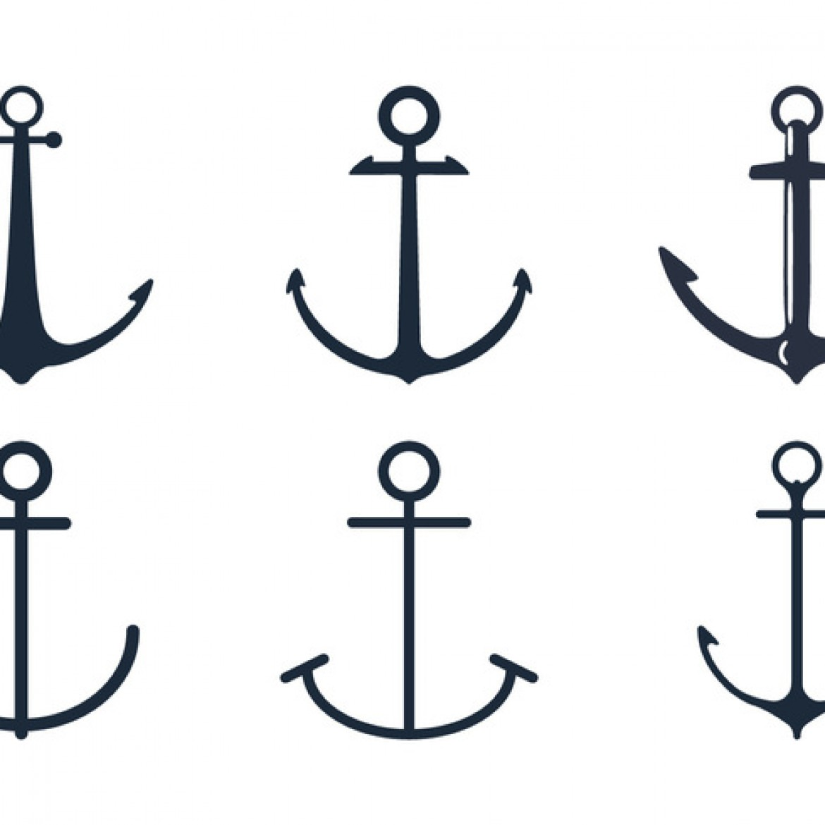 1170x1170 Anchor Tattoo Vector Images