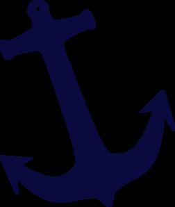 252x298 Tilt Navy Anchor Clip Art