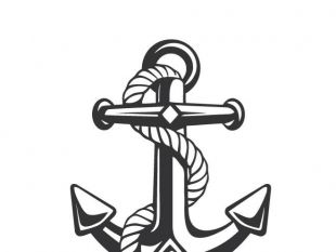 310x233 Anchor And Rope Graphics Free Vector Free Vectors Ui Download