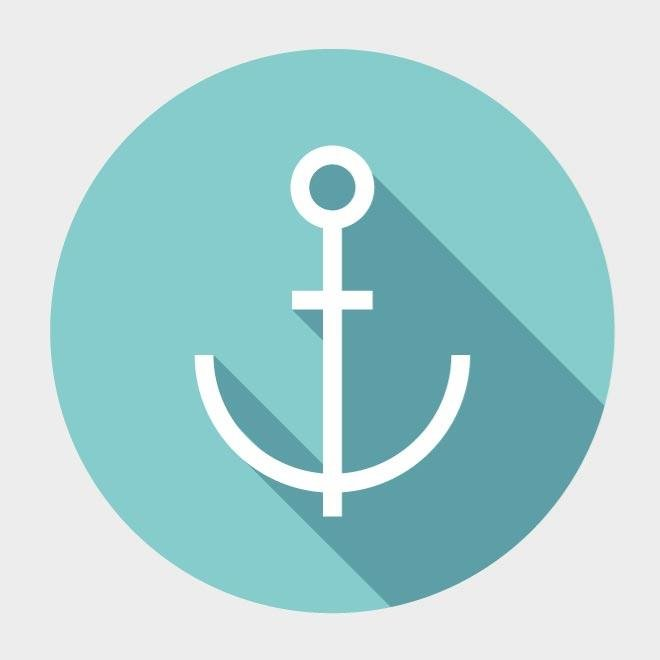 660x660 Free Anchor Vector Icon.eps Psd Files, Vectors Amp Graphics