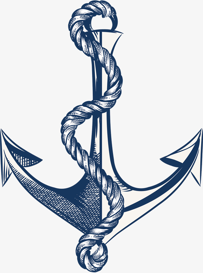 650x875 Hemp Rope, Rope Vector, Vector Png, Hand Painted Anchor Png And