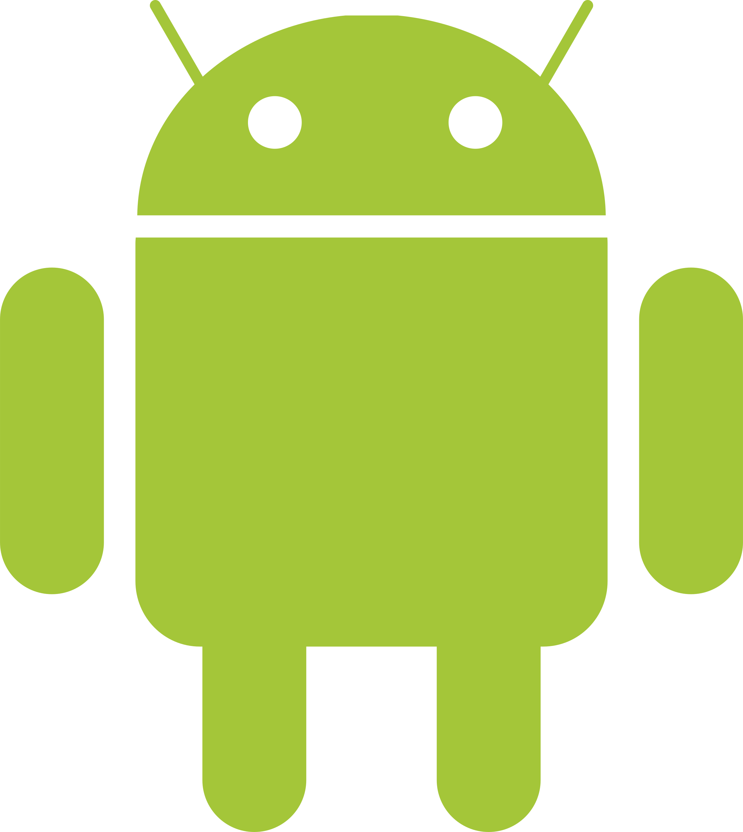 2400x2688 Collection Of Free Android Vector Clipart. Download On Ubisafe