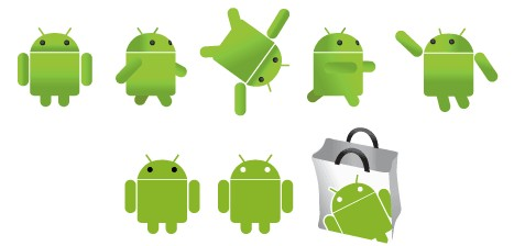 467x224 Free Android Logo Vector Eps Format Free Vector Download